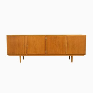Mid-Century Ash Sideboard by Carlo Jensen for Hundevad & Co., 1960s