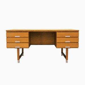 Vintage Danish Ash Desk, 1970s