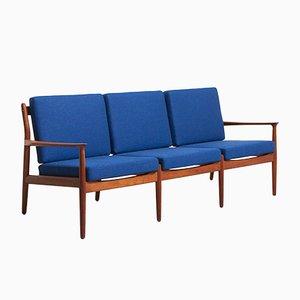 Canapé en Teck par Grete Jalk pour Glostrup Møbelfabrik, Danemark, 1960s