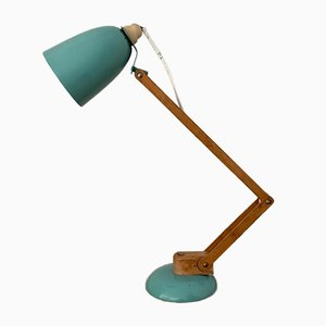 Mid-Century Duck Egg Maclamp Table Lamp by Terence Conran for Habitat, 1950s