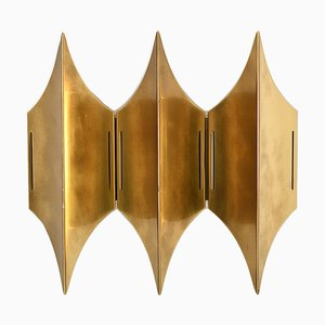 Mid-Century Danish Model Gothic III Sconce by Bent Karlby for Lyfa, 1960s