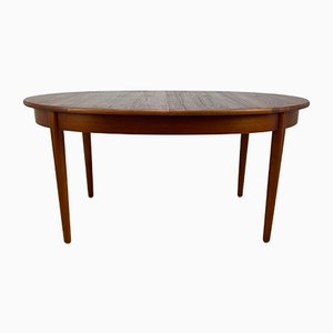 Vintage Oval Dining Table from Jantique, 1960s