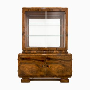 Polish Art Deco Display Cabinet