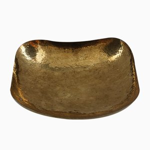 Hammered Brass Bowl, 1950s