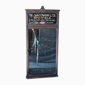 Antike Ladenvitrine von W. Saynor Ltd