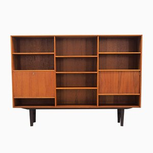 Vintage Danish Teak Highboard, 1960s