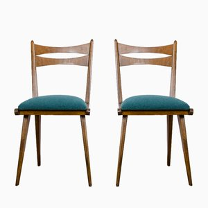 Czechoslovak Dining Chairs, 1960s, Set of 5