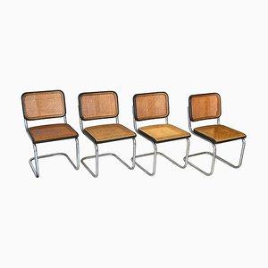 Modell Cesca Esszimmerstühle von Thonet, 1970er, 4er Set