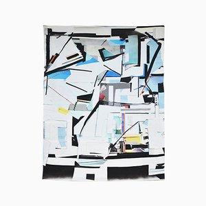 Collage Deco Silk Throw di Briggs e Cole