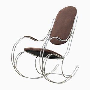 Rocking Chair en Acier Tubulaire, 1960s