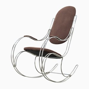 Tubular Steel Rocking Chair, 1960s