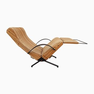 Model P40 Lounge Chair by Osvaldo Borsani for Tecno, 1950s
