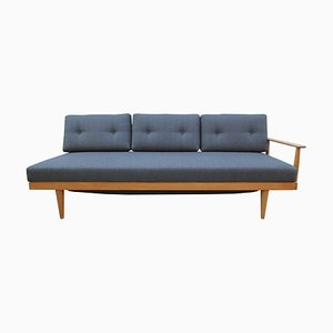 Blonde Oak Daybed by Walter Knoll, 1960s