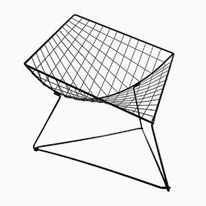 Dreieckiger Oti Beistelltisch aus Stahl von Niels Gammelgaard für Ikea, 1980er