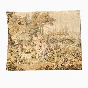 Vintage French Jaquar Tapestry, 1950s