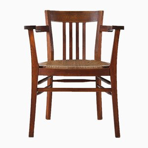 Vintage Art Deco Wooden Chair