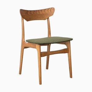 Sedie da pranzo in quercia di Schionning Elgaard, Danimarca, anni '60, set di 4