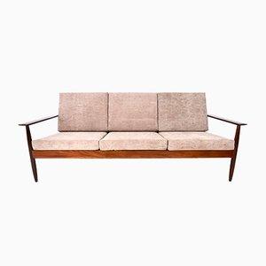 Mid-Century Teak 3-Seat Sofa, 1960s