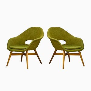 Mid-Century Easy Chairs by Miroslav Navratil, 1960s, Set of 2