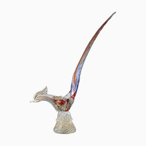 Mid-Century Murano Glass Bird Figurine, 1960s