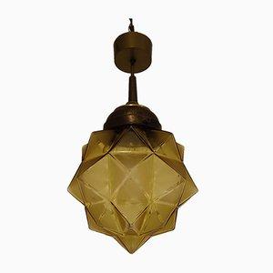 Art Deco Starburst Pendant Lamp, 1930s