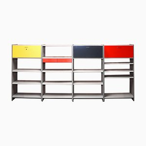 Model 5600 Wall Unit by A.R. Cordemeijer & L.J. Holleman for Gispen, 1950s