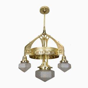 Lampada da soffitto Art Nouveau antica