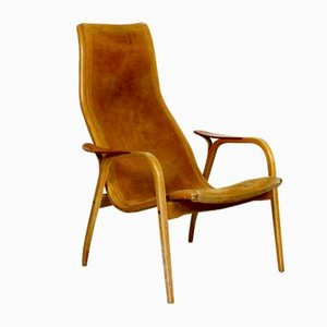 Model Lamino Easy Chair by Yngve Ekström for Swedese, 1970s