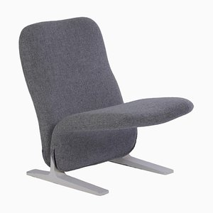 Concorde F780 Lounge Chair in Kvadrat Upholstery by Pierre Paulin for Artifort, 1960s