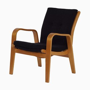 Black FB06 Armchair by Cees Braakman for Pastoe, 1950s