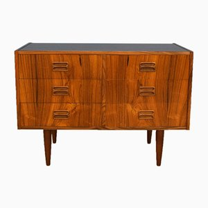 Mid-Century Danish Rosewood 6-Drawer Chest of Drawers TV Stand, 1960s