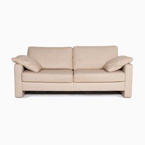 Cremefarbenes Concept Plus 2-Sitzer Sofa aus Leder von Kein Designer für Ewald Schillig