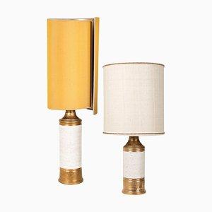 Lampes de Bureau par Bitossi pour Bergboms, 1960s, Set de 2