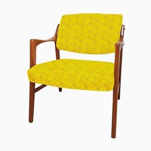 Schwedischer Teak Stuhl von Inge Andersson für Bröderna, 1960er