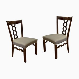Antique Austro-Hungarian Cubist Chairs, 1910s, Set of 2
