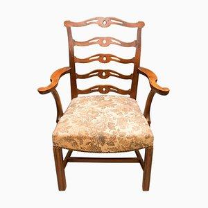 Antiker sezessionistischer Armlehnstuhl aus Eiche von Adolf Loos, 1900er