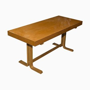 Vintage Long Side Table from Drevopodnik Holesov, 1970s