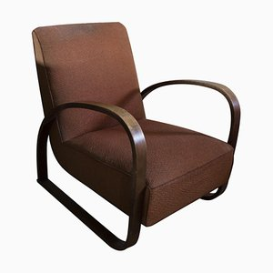 Model H-70 Lounge Armchair by Jindrich Halabala, 1930s