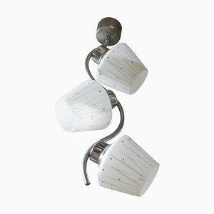 Bohemian Functionalistic Pendant Lamp, 1930s