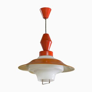 Mid-Century Czech Single Pendant Lamp, 1960s