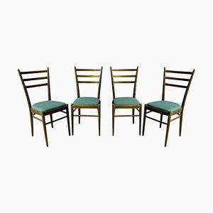 Esszimmerstühle von Ton, Tschechoslowakei, 1960er, Set of 4