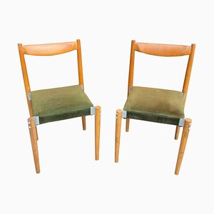 Czech Dining Chairs by M. Navratil, 1970s, Set of 2