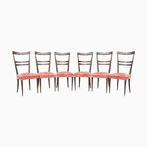 Esszimmerstühle von Ico Parisi, 1950er, 6er Set