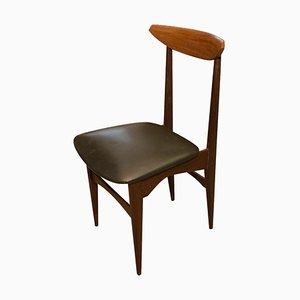 Mid-Century Italian Teak Chair, 1960s