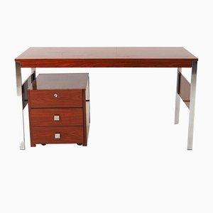 Palisander Schreibtisch und Schubladen Set von Alfred Hendrickx für Belform, 1960er