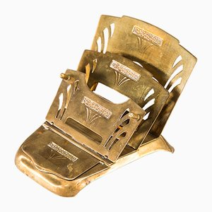 Art Deco Briefhalter, 1920er