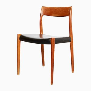 Teak No. 77 Dining Chairs by Niels Otto Møller for J.L. Møllers, 1960s, Set of 4
