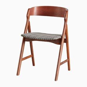 Teak Modell 71 Esszimmerstühle von Henning Kjærnulf für Boltings Stolefabrik, 1960er, 4er Set