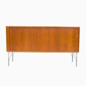 Danish Teak Tambour Sideboard by Heinrich Roepstorff, 1960s