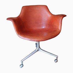 Vintage Model JK 810 Shell Armchair by Jørgen Kastholm for Kill International